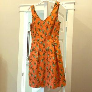 ModCloth Pineapple Dress